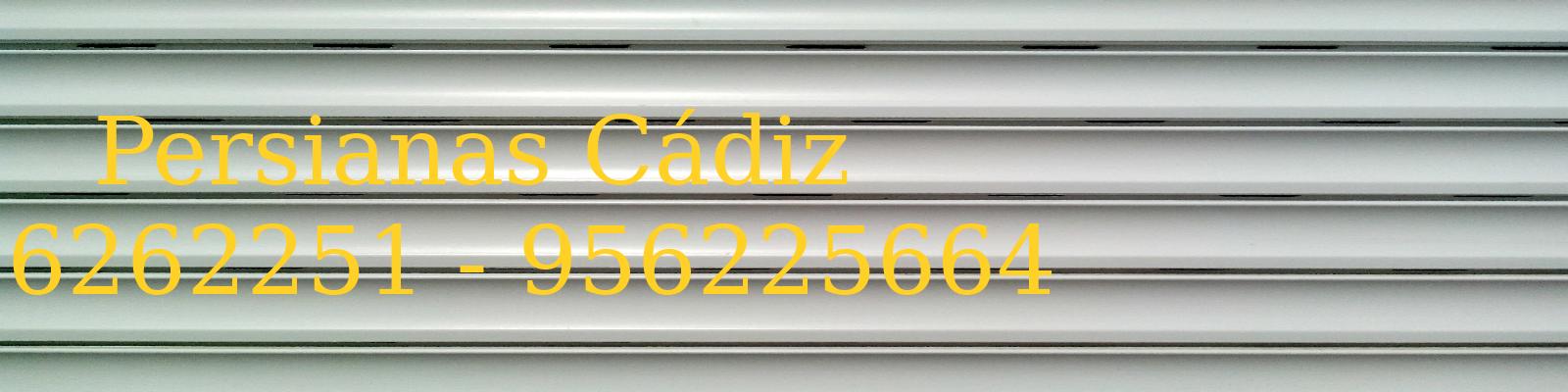 Logo Persianas Cádiz